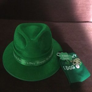 Accessories - 🍀St PATRICK'S DAY🍀 HAT & SOCKS, NWT